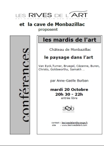 2009 Affiche Conference Paysage