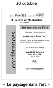 2009 Conférence Le paysage dans l'art