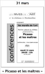 2009 Conférence Picasso et les maîtres