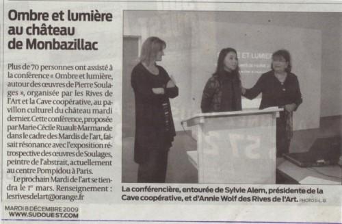 2009 Conf Ombre et lumière Art  SO (2)