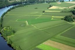 vues d'avion paysage traversé (19)