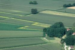vues d'avion paysage traversé  (4)