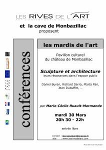 2010 Affiche Conf Sculpt Archi