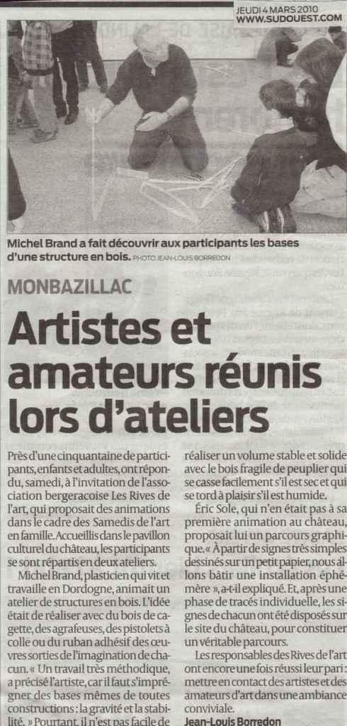 2010 Art SO2 4 mars
