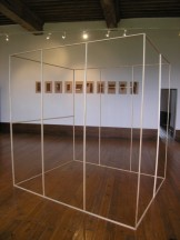 """Hoffner """"Modèle"""", 2010, Structure en pin 16x200x200"""