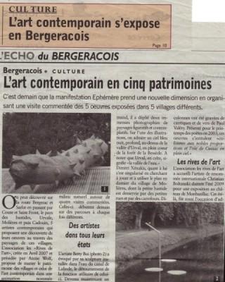 ECHO du Bergeracois