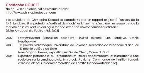 bibliographie C DOUCET