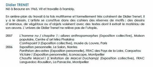 bibliographie de Didier TRENET