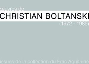 carton pour invitation expo Boltanski
