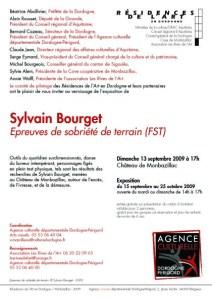 carton résidence Sylvain BOURGET