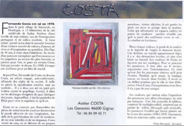 COSTA EPH 2011