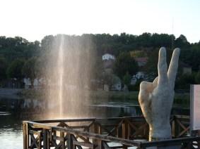 Didier TRENET v étude d'une fontaine à Lalinde EPHEMERES 2009 (2) (Copier)