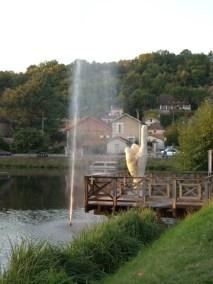 Didier TRENET v étude d'une fontaine à Lalinde EPHEMERES 2009 (7) (Copier)
