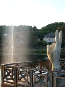 Didier TRENET v étude d'une fontaine à Lalinde EPHEMERES 2009 (8) (Copier)