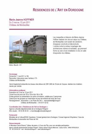 dossier de presse résidence JM HOFFNER  (1)