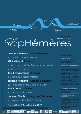EPHEMERES 2009 flayer