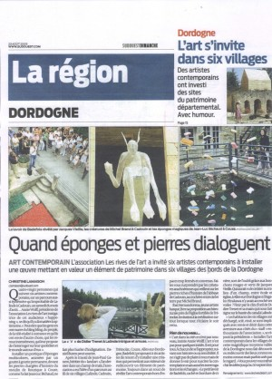 journal La région du 23 août 2009
