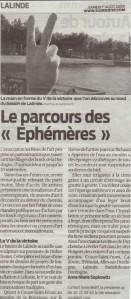 journal sudouest du 1 aout 2009