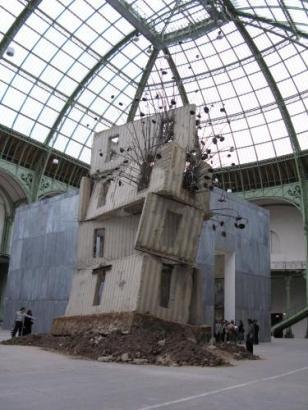 Monumenta Kiefer Tour aux tournesols 2