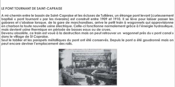 pont tournant de st-Capraise EPH2011