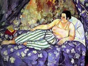 Suzanne VALADON, Chambre Bleue, 1923