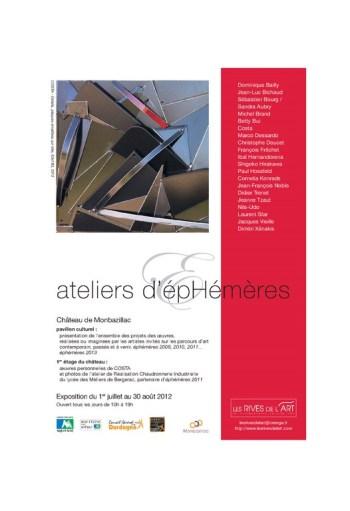 2012 carton ateliers d'EPHEMERES