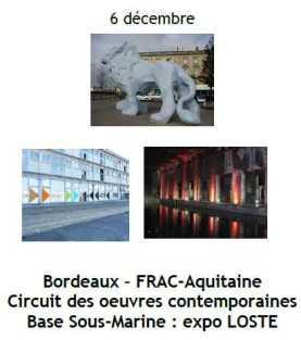 2013 Sortie Culturelle Bordeaux