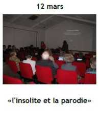 2014 Conference Insolite Parodie