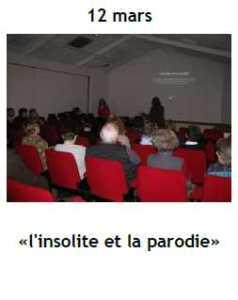 2014 Conference Insolite Parodie