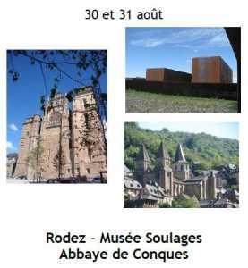 2014 Sortie Culturelle Rodez Conques