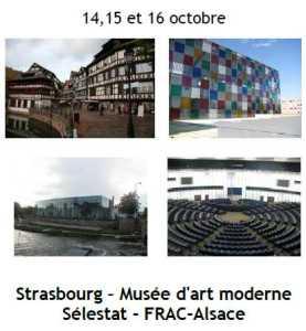 2014 Sortie Culturelle Strasbourg