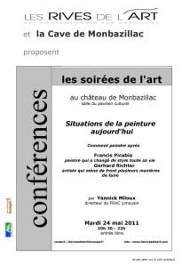 affiche conférence du 24 05 11 Yannick Miloux