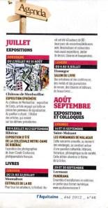 Aquitaine été 2012
