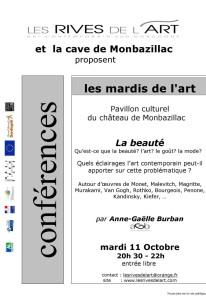 """conférence """"La beauté"""""""