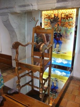 chaise en fauteuil aux fonds retournés JF NOBLE (2)