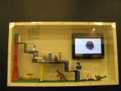 """Ateliers d'Ephémères 2012 : Marco Dessardo, maquette et vidéo de """"dix goulottes et un parasite"""""""