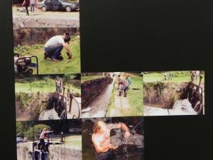 """Ateliers d'Ephémères 2012 : Marco Dessardo, photos de l'installation de """"dix goulottes et un parasite"""", Ephémères 2011"""