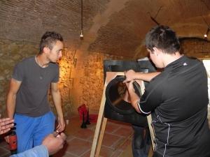 installation des gargouilles   (8)