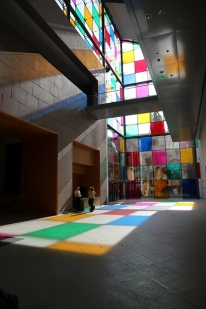 le musée d'art moderne de Strasbourg Comme un jeu d'enfant, travaux in situ (2)