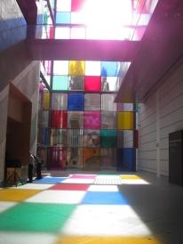 le musée d'art moderne de Strasbourg Comme un jeu d'enfant, travaux in situ (4)