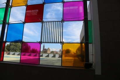 le musée d'art moderne de Strasbourg Comme un jeu d'enfant, travaux in situ (5)