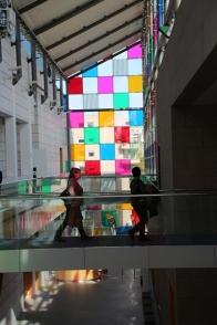 le musée d'art moderne de Strasbourg Comme un jeu d'enfant, travaux in situ (6)