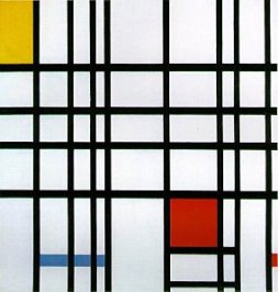 "Piet MONDRIAN : ""composition"""