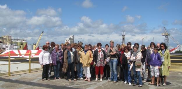 participants du voyage