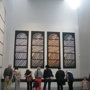 travaux préparatoires des vitraux de CONQUES (1)