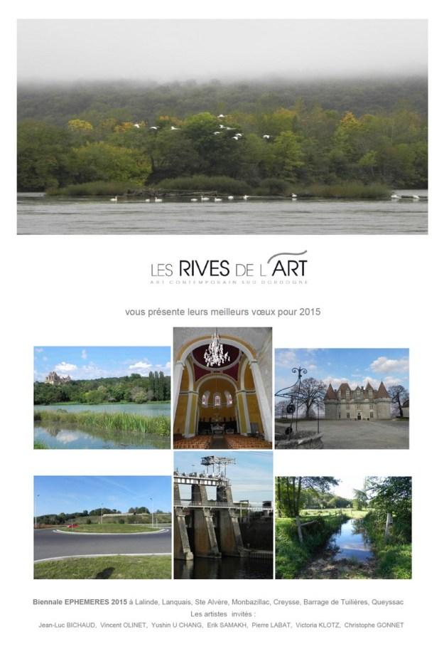 2015 Voeux Rives de l'Art