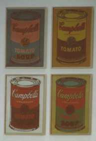 "Andy WARHOL, ""Campbell's Soup Cans"""