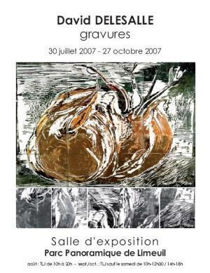 2007 Affiche Expo Delesalle