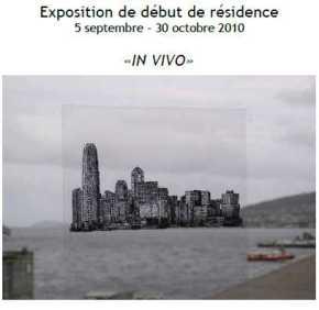2010 Expo debut Résidence MJ HOFFNER