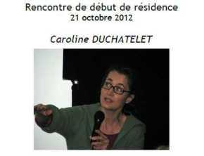 2012 Rencontre debut Résidence C DUCHATELET